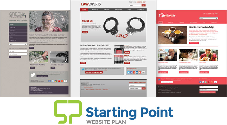 Starting Point Website Plan